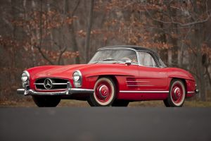 1962 MB 300SL Roadster-430